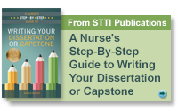 A Nurse's Step-By-Step Guide to Writing Your Dissertation or Capstone